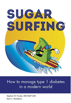 Sugar Surfing - The Book - how to manage type 1 diabetes in a modern world
