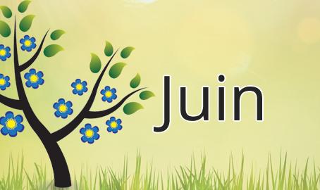 Les fruits et les légumes du mois de juin