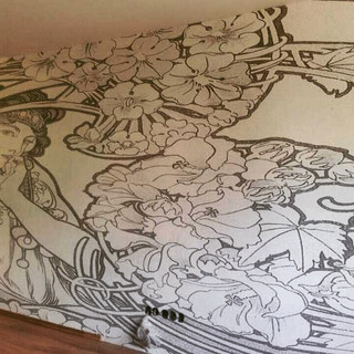 Alfons Mucha - fototapeta na míru