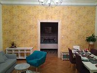 Luxusní tapeta - obývací pokoj, tapetar praha
