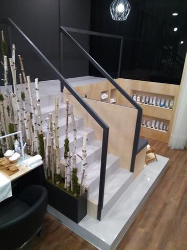 Epoxidové nátěry schodů