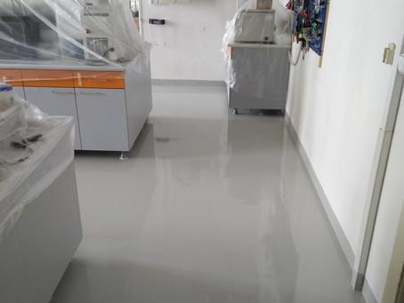 Historie epoxidových podlah