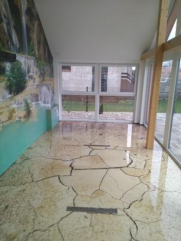 3D fototapeta na stěnu i podlahu