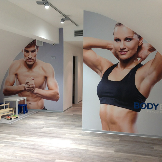 Fototapeta BodyBody - výroba podle vlastního designu firmy