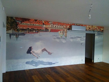 Fototapeta vyrobená na míru podle architekta