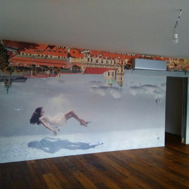 Fototapeta podle architekta - obývací pokoj