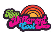 KEEP DIFFERENT COOL LOGO