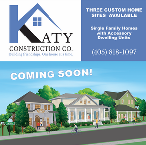 KATY CONSTRUCTION BUILDING PROJECT SIGN