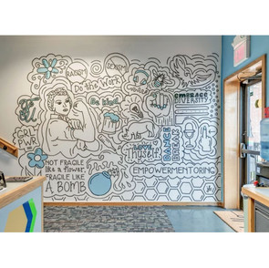 THE THIRD SPACE WALL MURAL