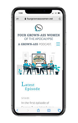 Four grown ass women of the apocalypse website on mobile