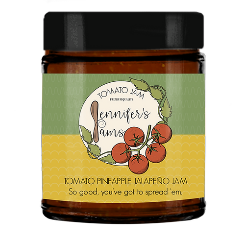 Tomato Pineapple Jalapeño Jam