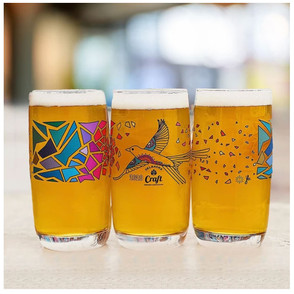 CRAFT BREWERS ASSOCIATION OF OKLAHOMA FUNDRAISER GLASS