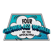 Four grown ass women of the apocalypse logo
