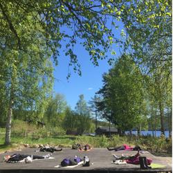 Savasana vila på Levagårdens kursgård