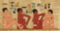 egyptien reflexologie