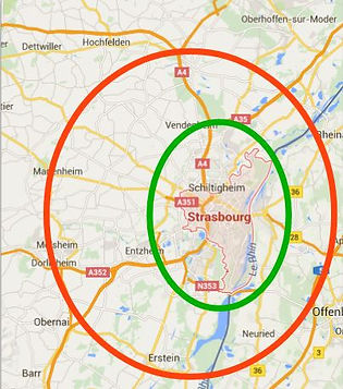 plan strasbourg zones reflexologie