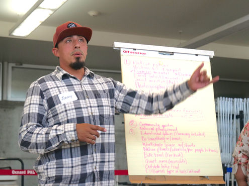 Resident Explains Group's Ideas