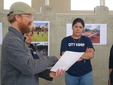 Eric Humel with City Corps