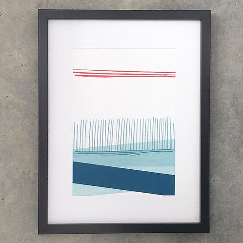 Turquoise Reeds III
