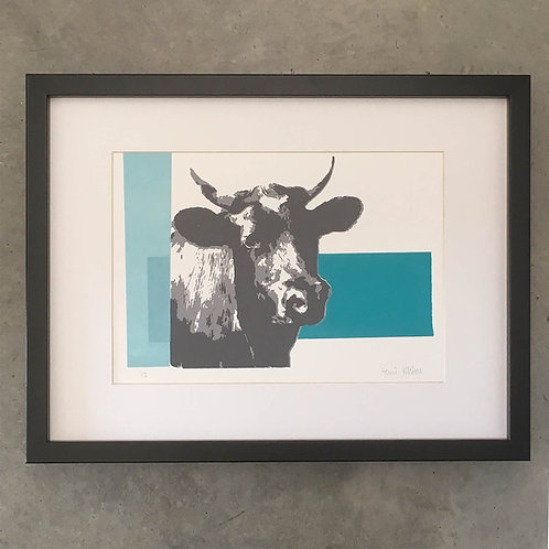 Turquoise Aldeburgh Cow