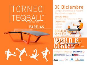 Torneo Teqball 30 de Diciembre