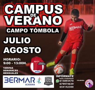 CAMPUS DE VERANO 2020 en TÓMBOLA