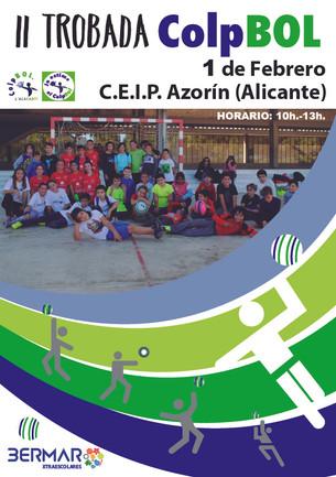 II Trobada Colpbol  en C.E.I.P. Azorín de Alicante