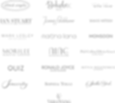 Wedding Dress Designer Logos