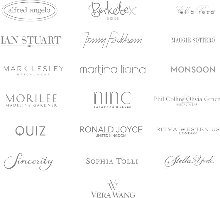 Wedding Dress Designer Logos