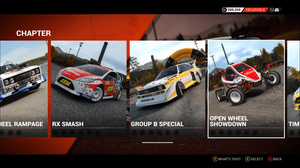 """Image result for codemasters """"dirt rally"""" menu"""