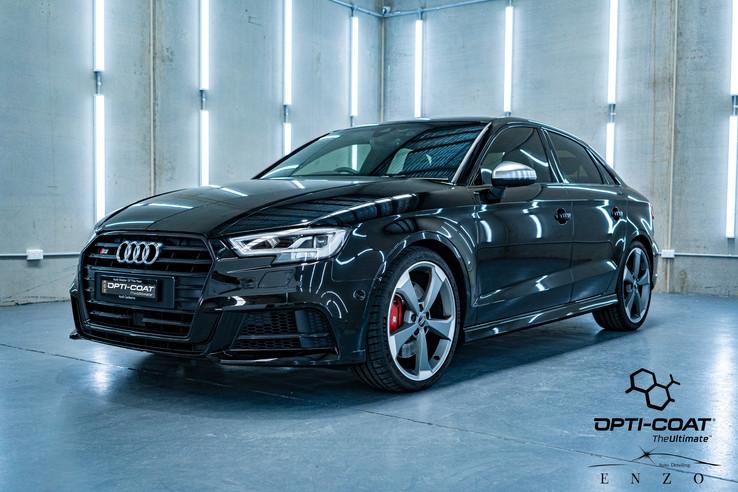 2017 Audi S3 - SunTek PPF + Opti-Coat Pro+