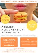 atelier alimentation et émotion, sophrologie et fleurs de Bach, Céline Vicot, diététicienne, Agnès Feger