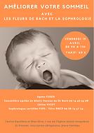 atelier sommeil 19 avril 2019, sophrologie et sommeil, cours collectifs, céline Vicot, Fleurs de Bach