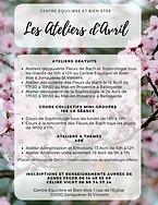 ateliers de sophrologie en avril, céline vicot, cours collectifs, fleurs de Bach