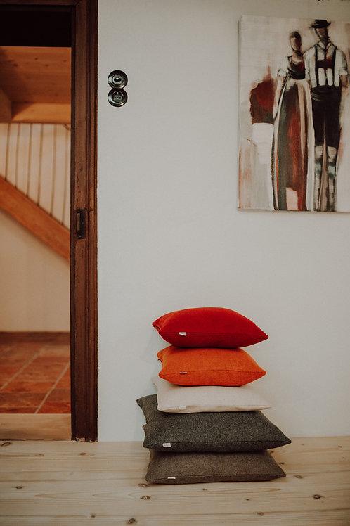 Kissenhülle Flauschloden doubleface (100% Schurwolle) 40 x 40 cm