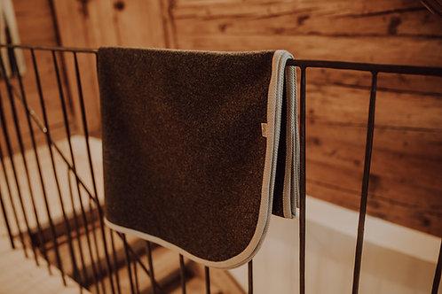 Loden Decke  (reine Schurwolle) 150 x 100 cm