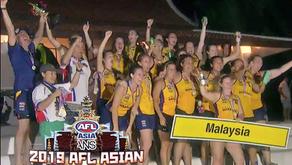 AFLW Asian Champions!!!