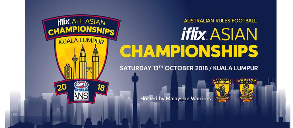 iFlix AFL Asian Championship - Prospectus