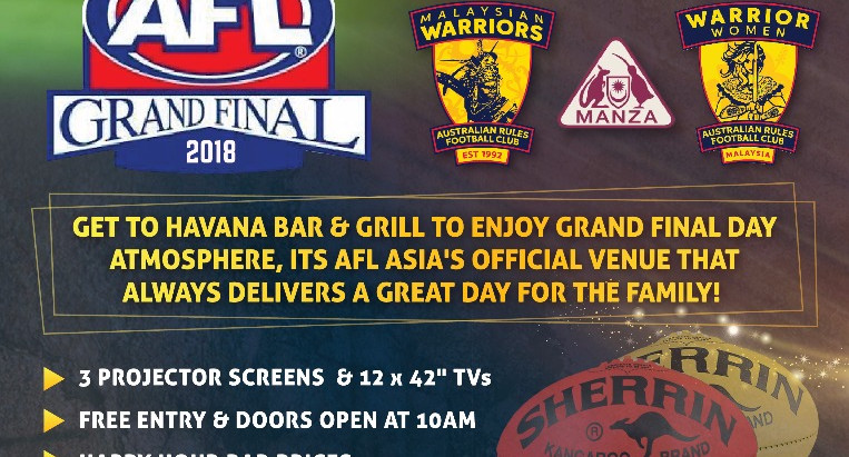 AFL Grand Final - LIVE in KL