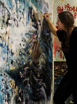 Painting Muttersturm