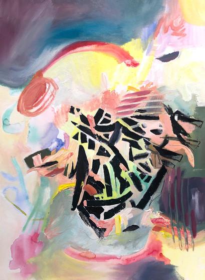 Susanne Wawra, Farbsalat (Colour Salad), 2020