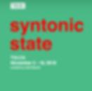 Syntonic State TULCA 2018