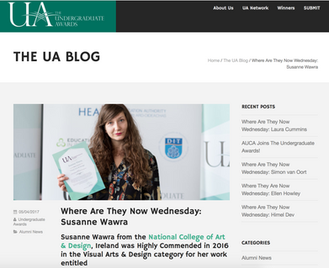 Press: The UA Blog's Where Are They Now Wednesday