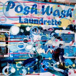 SusanneWawra, Posh Wash, 2017.