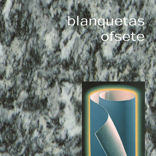 Blanquetas offset