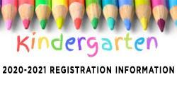 2020-2021 Carey Kindergarten Registration