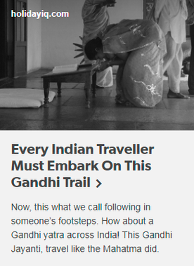 Every Indian Traveller Must Embark On This Gandhi Trail