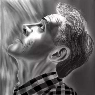 One of my digital drawings timelapse