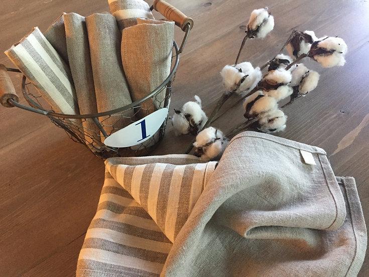 Linen Dish Cloths - 3 pack