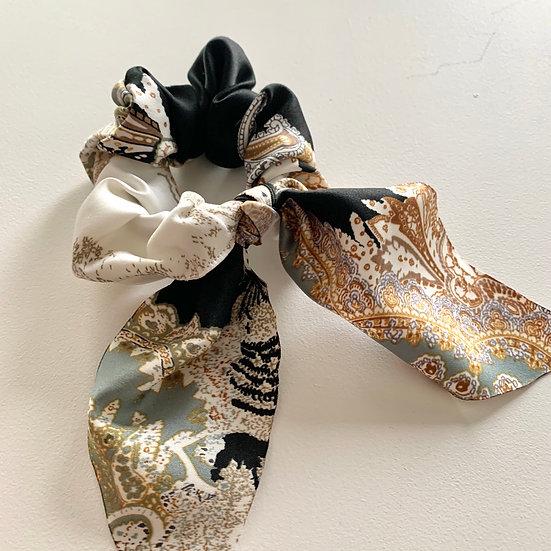 Paisley Bow Scrunchie
